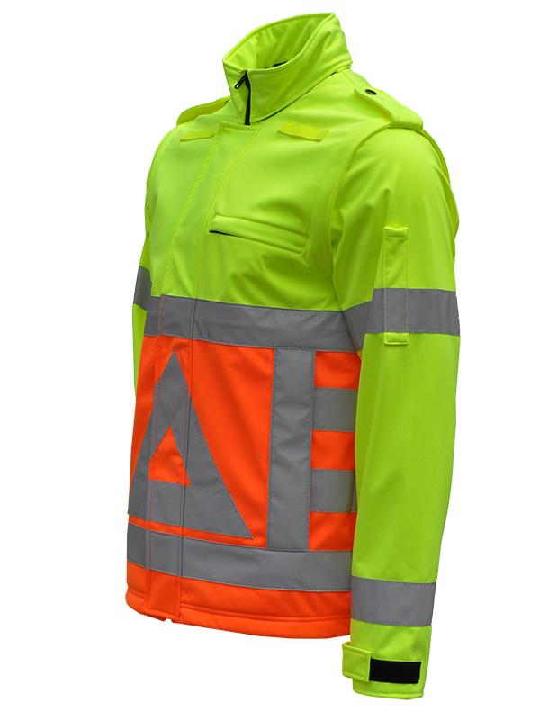 41500 Softshell verkeersregelaar Schuin -45 graden. Merk Anchor Workwear