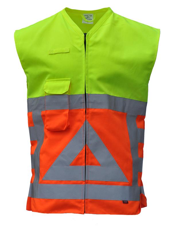 80753 Vest verkeersregelaar Voorkant Merk: Anchor Workwear