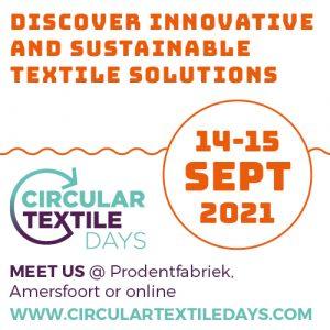 Aankonidiging circular textile days